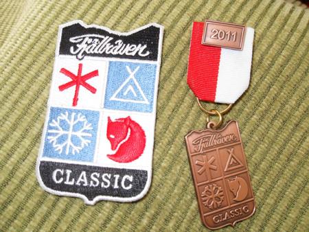 Fjallraven Classic 2011 - Medal i plakietka (fot. Jakub Rymowicz)