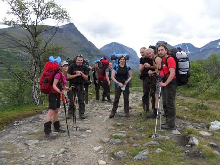 Fjallraven Classic 2011 - Trekkerzy podczas marszu (fot. Jakub Rymowicz)
