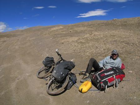 Janne Corax w Tybecie (fot. arch. Janne Corax)