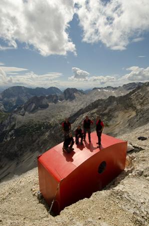 Holentalgrat Hut na szlaku (fot. Hanwag)