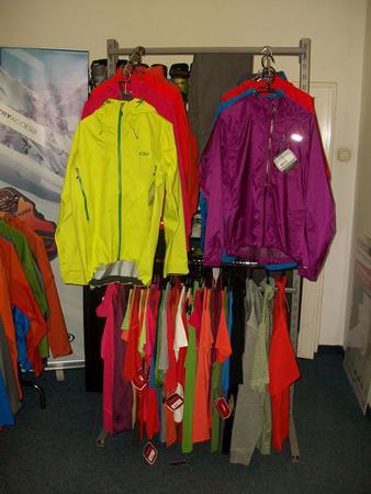 Krakowski showroom marki Outdoor Research (fot. Kvapi Products Ltd)