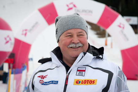 Apoloniusz Tajner, prezes Polskiego Związku Narciarskiego (fot. Tauron Bachleda Ski)