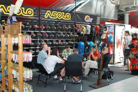 Targi Kielce Sport-Lato 2011, stoisko firmy Agnen Sport (fot. 4outdoor.pl)