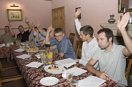Polish Outdoor Group, spotkanie założycielskie, głosowanie