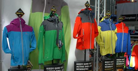 Berghaus, pełna gama kolorystyczna kurtki Velum