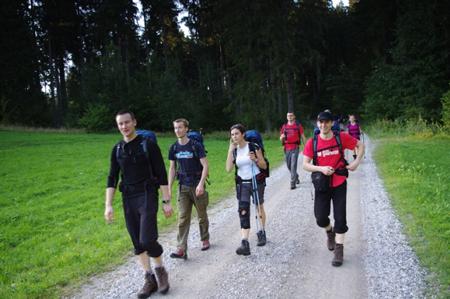 Friends of Fenix - wędrówka w kierunku Tutzinger Hutte