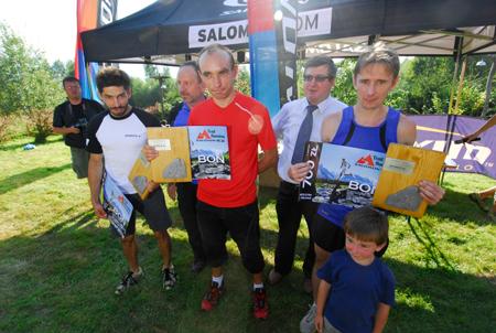 Maraton Gorce - zwycięzcy (fot. Monika Strojny)