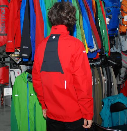 Marmot, tył kurtki Vector Jacket