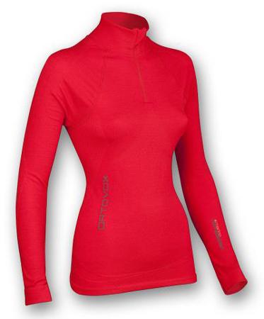 Ortovox, Competition Long Sleeve Zipper Womem