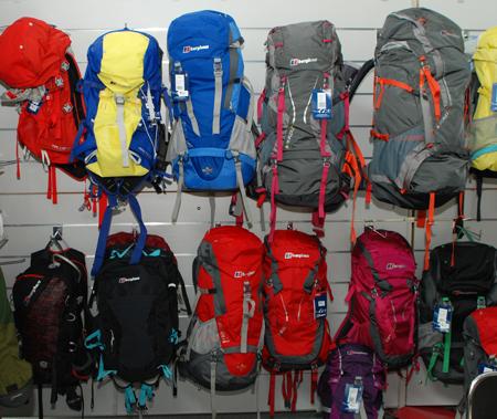 Berghaus, kolekcja plecaków na sezon wiosna/lato 2012