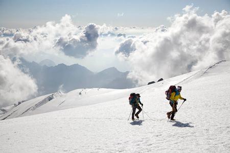 Herve i Marco Barmasse na Monte Rosa (fot. Damiano Levati)