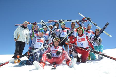 Uczestnicy projektu Tauron Bachleda Ski (fot. Tauron Bachleda Ski)