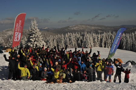 Uczestnicy WinterCampu 2011