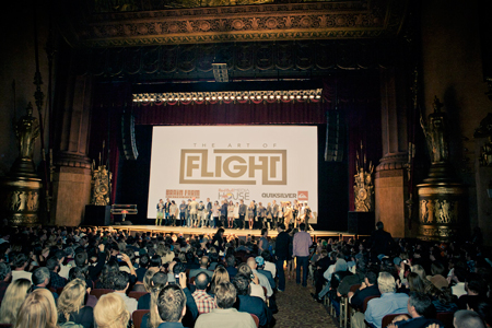 "Nowojorska premiera filmu ""The Art of Flight"" (fot. Red Bull)"