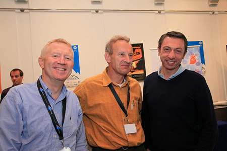 European Outdoor Forum: Jean-Marc Pambet, prezes Salomona, Paul Petzl, prezes Petzla, Frederic Ducruet, Millet General Manage