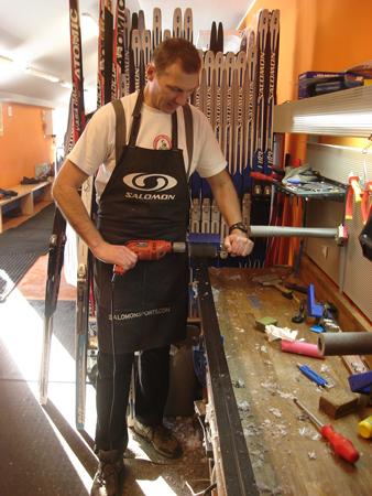 Piotr Lepka w pracy (fot. H&S Media Consulting)