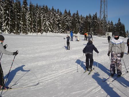 Warunki na Polanie Jakuszyckiej 11 grudnia 2011 (fot. Salomon Nordic Sunday)