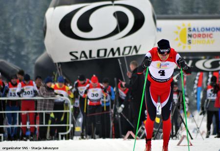Finałowy, dziewiąty bieg drugiego sezonu Salomon Nordic Sunday 2010/2011 (fot. Stacja Jakuszyce)