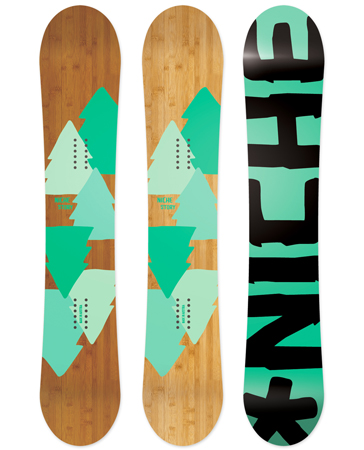 ISPO Award 2012: deska snowboardowa Story marki Niche