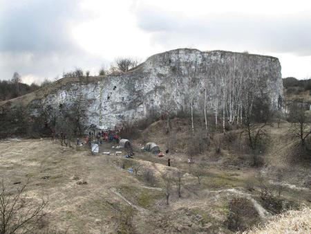 Sektor drytoolowy na krakowskim Zakrzówku (fot. AMC)