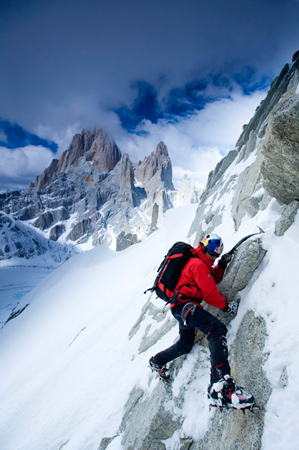 David Lama (fot. Corey Rich/Red Bull)