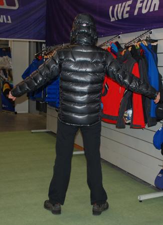 Targi Kielce Sport-Zima 2012, kurtka Ramche Down Jacket marki Berghaus (fot. 4outdoor.pl)