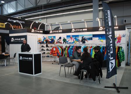 Targi Kielce Sport-Zima 2012, stoisko marki Alpine Pro (fot. 4outdoor.pl)