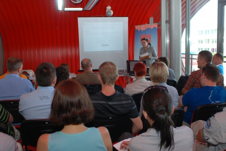 Szkolenie Polish Outdoor Group - Targi Kielce Sport-Lato 2011 (fot. 4outdoor.pl)