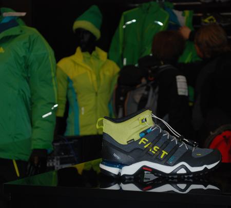 Targi Kielce Sport-Zima 2012, stoisko marki adidas (fot. 4outdoor.pl)