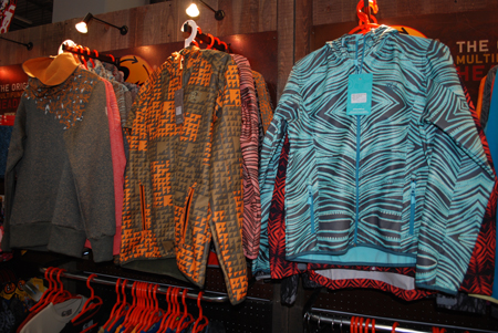 Targi Kielce Sport-Zima 2012, kolekcja odzieży marki Buff (fot. 4outdoor.pl)