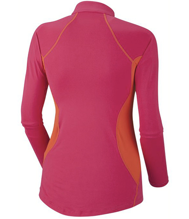 Columbia, bluza Women's Baselayer Midweight Long Sleeve 1/2 Zip