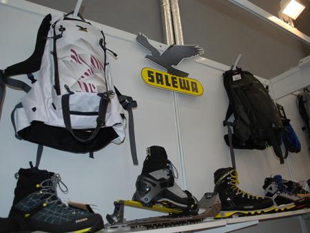 Targi Kielce Sport-Zima 2012, plecaki Taos marki Salewa (fot. 4outdoor.pl)