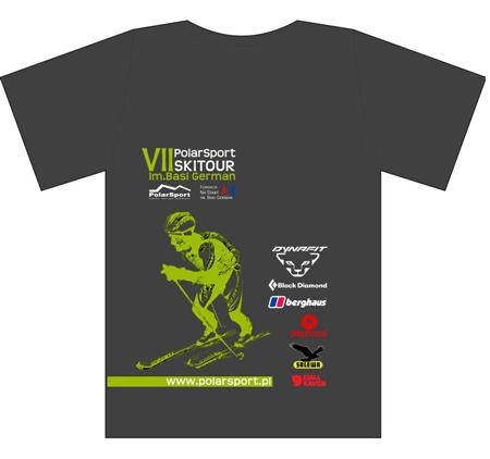 Koszulka zawodników VII Polar Sport Skitour im. Basi German