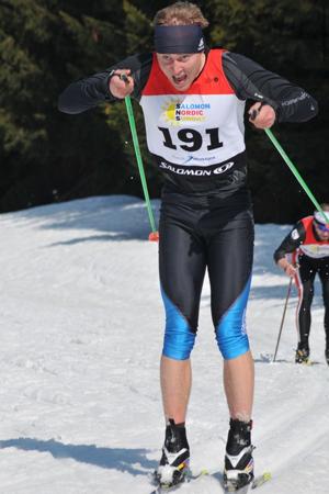 Finałowy bieg Salomon Nordic Sunday (fot. Stacja Jakuszyce)