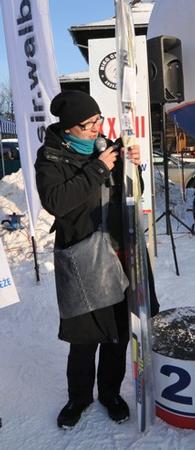 Beata Lepka, organizator Salomon Nordic Sunday (fot. Stacja Jakuszyce)