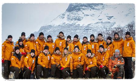 Uczestnicy Fjallraven Polar 2012