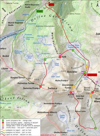 XV Memoriał Malinowskiego - mapa