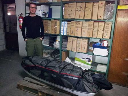 Wyprawa na Spitsbergen, ekwipunek Rafała Króla