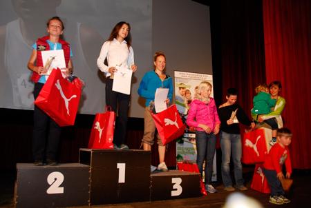 Bieg im. Druha Marduły 2012 - zwyciężczynie (fot. Monika Strojny)