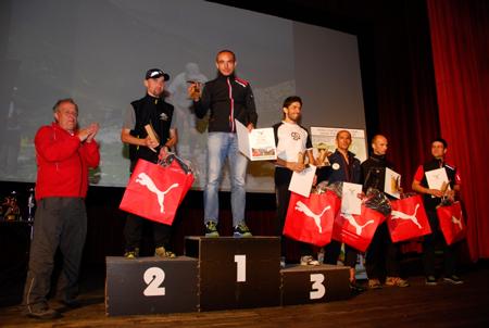 Bieg im. Druha Marduły 2012 - zwycięzcy (fot. Monika Strojny)