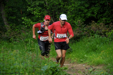 Bieg Rzeźnika 2012 - Paweł Krawczyk i Miłosz Szcześniewski (fot. Monika Strojny)