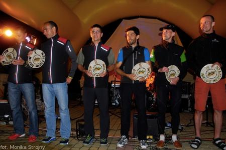 Bieg Rzeźnika 2012 - zwycięzcy (fot. Monika Strojny)