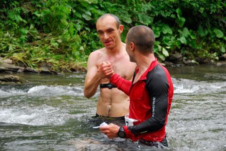 Bieg Rzeźnika 2012 - Piotrek Hercog i Marcin Świerc  (fot. Monika Strojny)