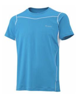 Columbia, koszulka Baselayer Lightweight Short Sleeve Top