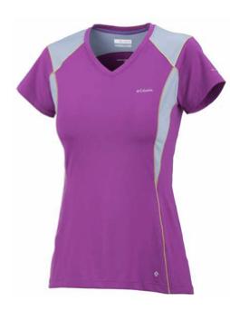 Columbia, koszulka Insight Ice™ Short Sleeve V-Neck TOP