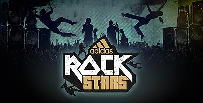 adidas Rockstars, plakat