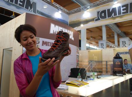 OutDoor Show 2012 - nowy model butów marki Meindl (fot. 4outdoor.pl)