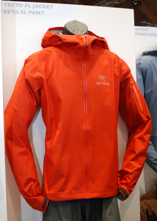 OutDoor Show 2012 - Arc'teryx, kurtka Tecto FL Jacket (fot. 4outdoor.pl)