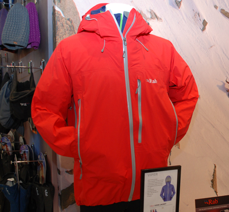 OutDoor Show 2012 - Rab, kurtka Viper Jacket (fot. 4outdoor.pl)