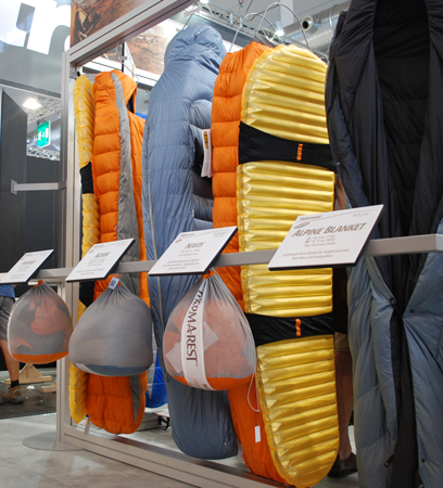 OutDoor 2012 – Śpiwory marki Therm-a-Rest (fot. 4outdoor.pl)
